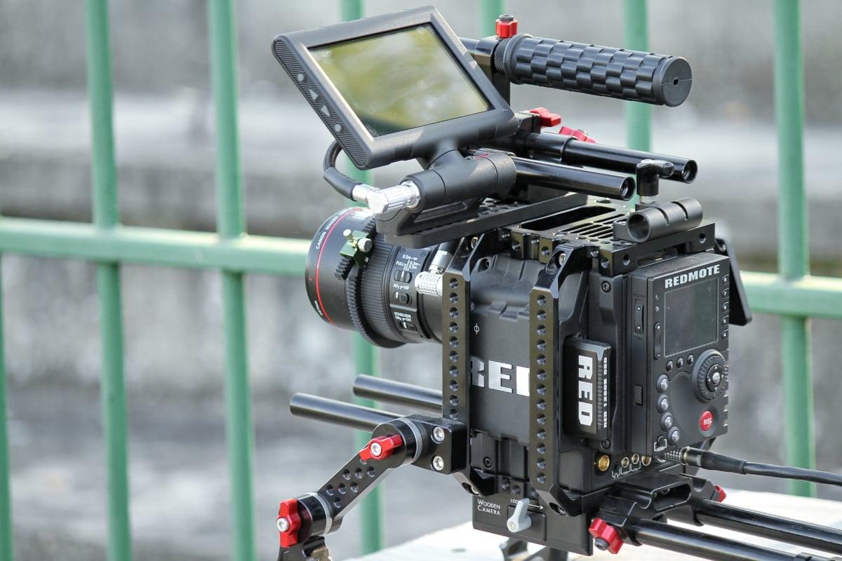 professional, filming, digital camera, film, equipment, lens, electronics, technology, outdoors, contemporary