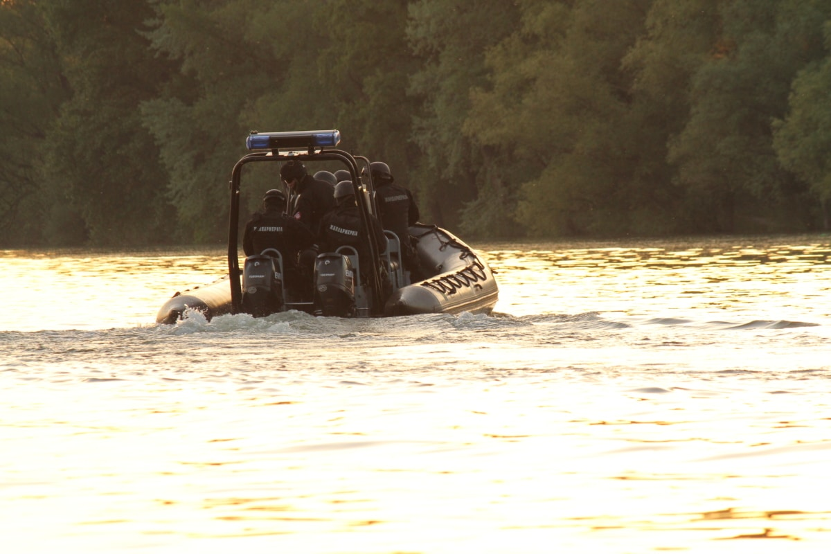patrol boat, military, law enforcement, police, regiment, staff member, tractor, vehicle, machine, machinery