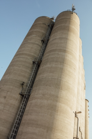 silo, storage, staircase, industry, architecture, tower, building, structure, column, tall