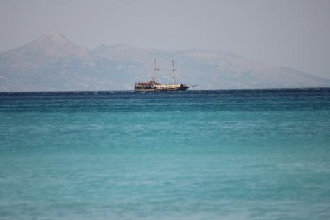 jedrenje, udaljenost, brod za krstarenje, mediteranska, more, zanat, gusar, ocean, brod, brod