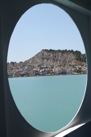 window, cityscape, greece, panorama, holiday, cruise ship, water, landscape, lake, sea