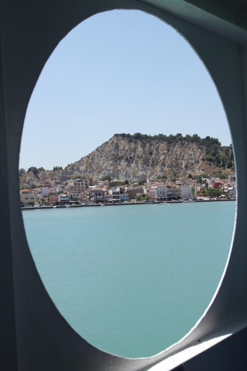 window, cityscape, greece, panorama, holiday, cruise ship, water, landscape, lake, sea