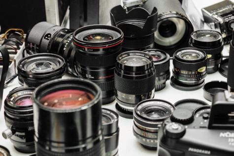 many, lens, object, photography, equipment, camera, film, metal, aperture, mechanism