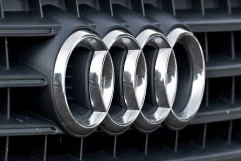 Audi, tecken, symbol, bil, galler, stål, krom, hjulet, Metallic, automotive