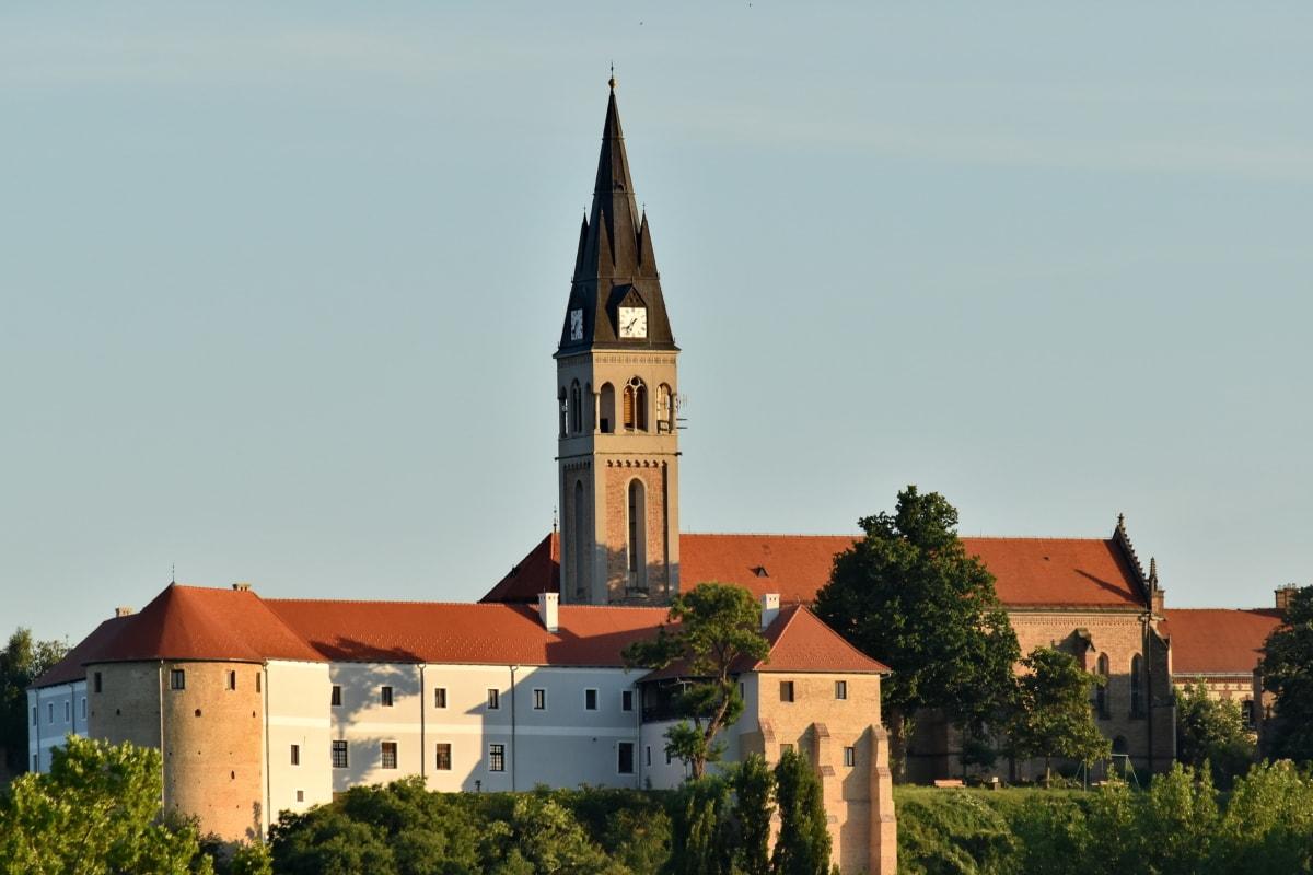 nhà thờ thánh Ivana Kapistrana, Nhà thờ, lâu đài, Croatia, tháp, trường đại học, tôn giáo, kiến trúc