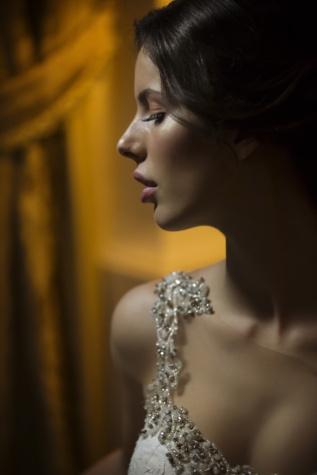 lindo, mulher, retrato, modelo da foto, atraente, cabeça, penteado, elegância, cara, modelo