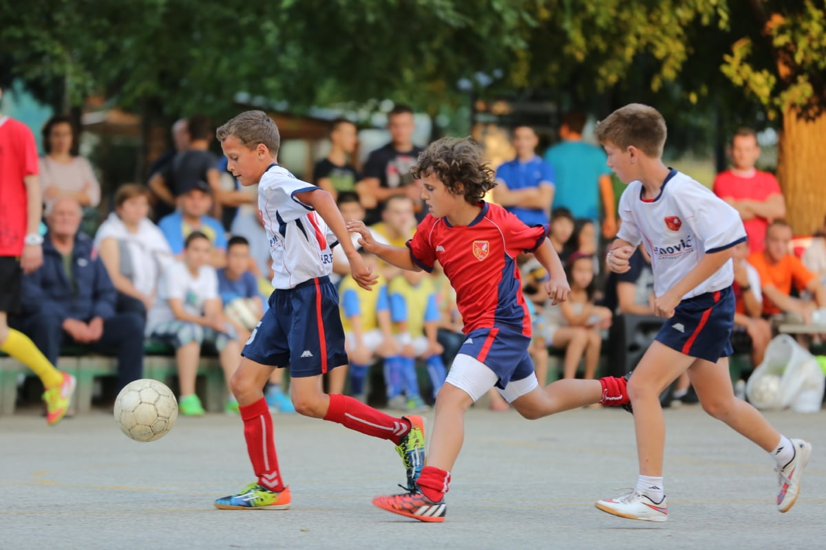 childhood, children, competition, soccer, soccer ball, football player, physical activity, adolescence, ball, game