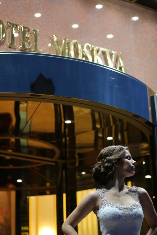 gorgeous, glamour, russia, elegance, hotel, photo model, dress, entrance, outfit, posing