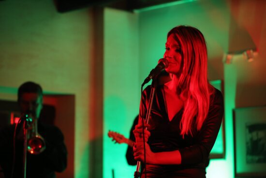 discotheque, blonde hair, singer, song, pretty girl, person, model, attractive, fashion, hair