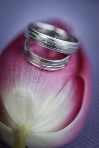 wedding ring, platinum, rings, tulips, jewelry, handmade, gold, close-up, detail, flower