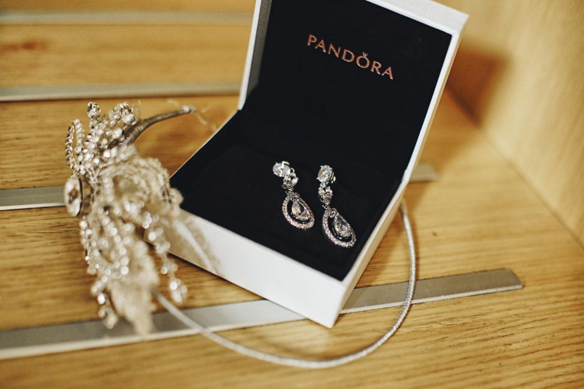 orecchini, gioielli, gioiello, lusso, casella, accessorio, argento, Oro, Platino, bella