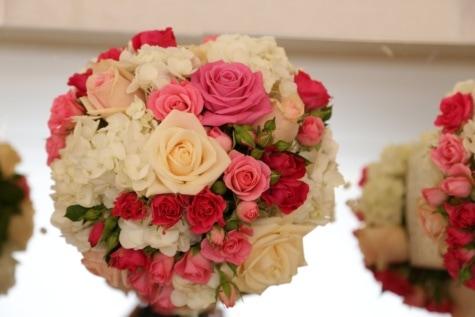 bouquet de mariage, miroir, réflexion, décoratifs, arrangement, décoration, Rose, bouquet, des roses, mariage