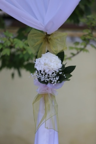 silk, white flower, arrangement, flowers, wedding, bouquet, shrub, plant, flower, ceremony