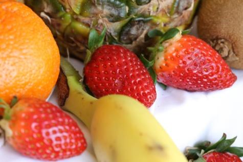 Суниця, ківі, ананас, банан, цитрусові, органічні, фрукти, свіжі, Полуниця, виробляють