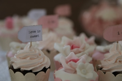 sweet, love, cream, cupcake, sugar, confectionery, candy, wedding, baking, cake