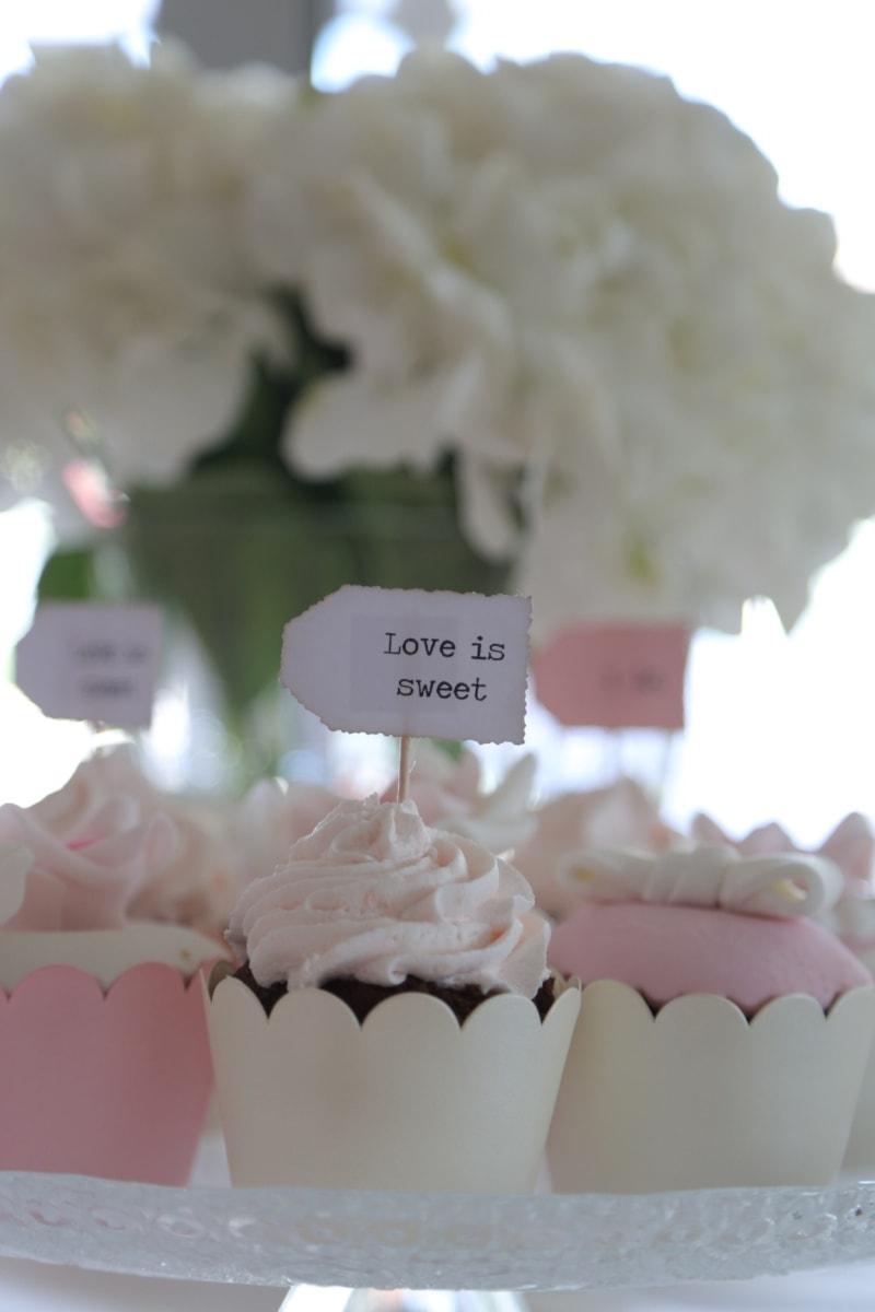 wedding cake, wedding, message, sweet, love, cupcake, sugar, delicious, baking, cake
