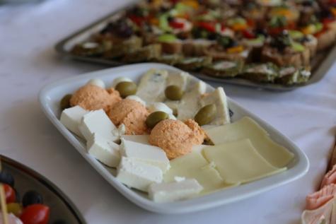 mogućnost, sir, švedski stol, ploča, ručak, hrana, večera, obrok, jelo, predjelo