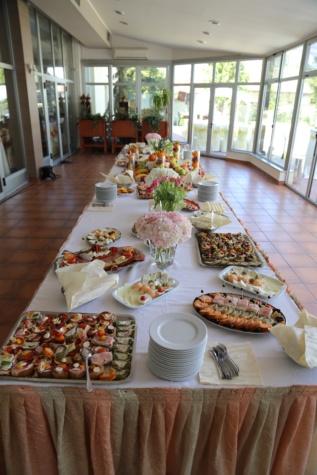 lanchonete, área de refeições, buffet de, almoço, para banquetes, lanche, comida, restaurante, placa, assento