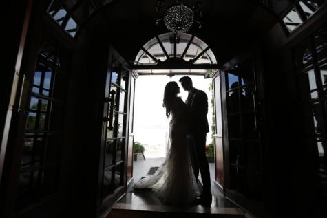 handsome, wedding, groom, bride, wedding dress, shadow, silhouette, front door, people, window