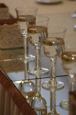 vin blanc, boisson, alcool, Champagne, célébration, verre, Crystal, miroir, luxe, élégance