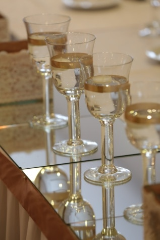 champagne, white wine, decorative, drink, romance, event, elegance, celebration, glass, crystal