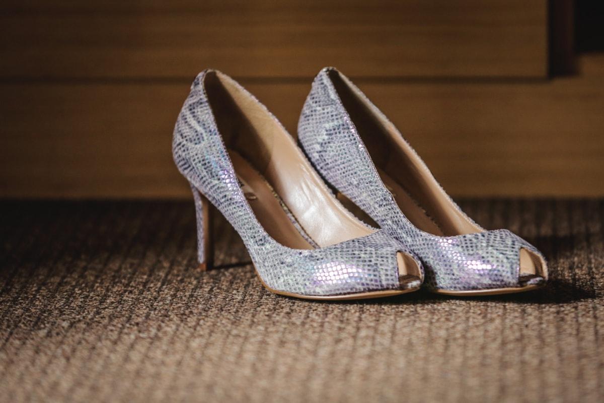 sandal, glansigt, skor, klackar, elegans, mattan, skor, läder, mode, skon