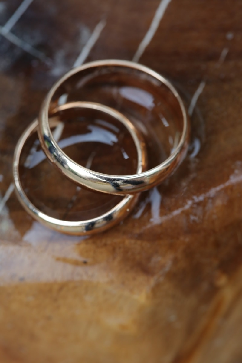 golden glow, rings, gold, granite, marble, stone, object, accessory, luxury, handmade