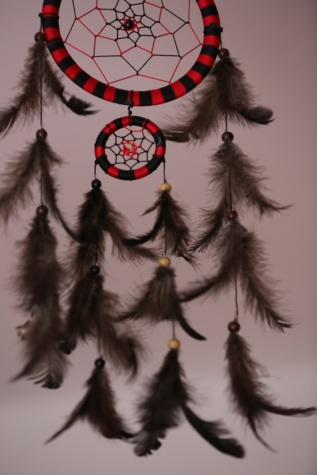 dream catcher, feather, hanging, dream, handmade, tradition, indian, art, craft, detail