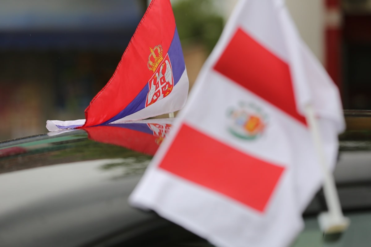 Serbia, flag, government, Peru, nation, national, wind, administration, patriotism, pride