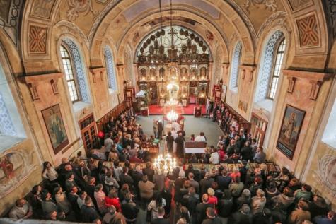 bröllop, ceremoni, kyrkan, publik, folkmassan, Auditorium, religion, hall, arkitektur, Domkyrkan