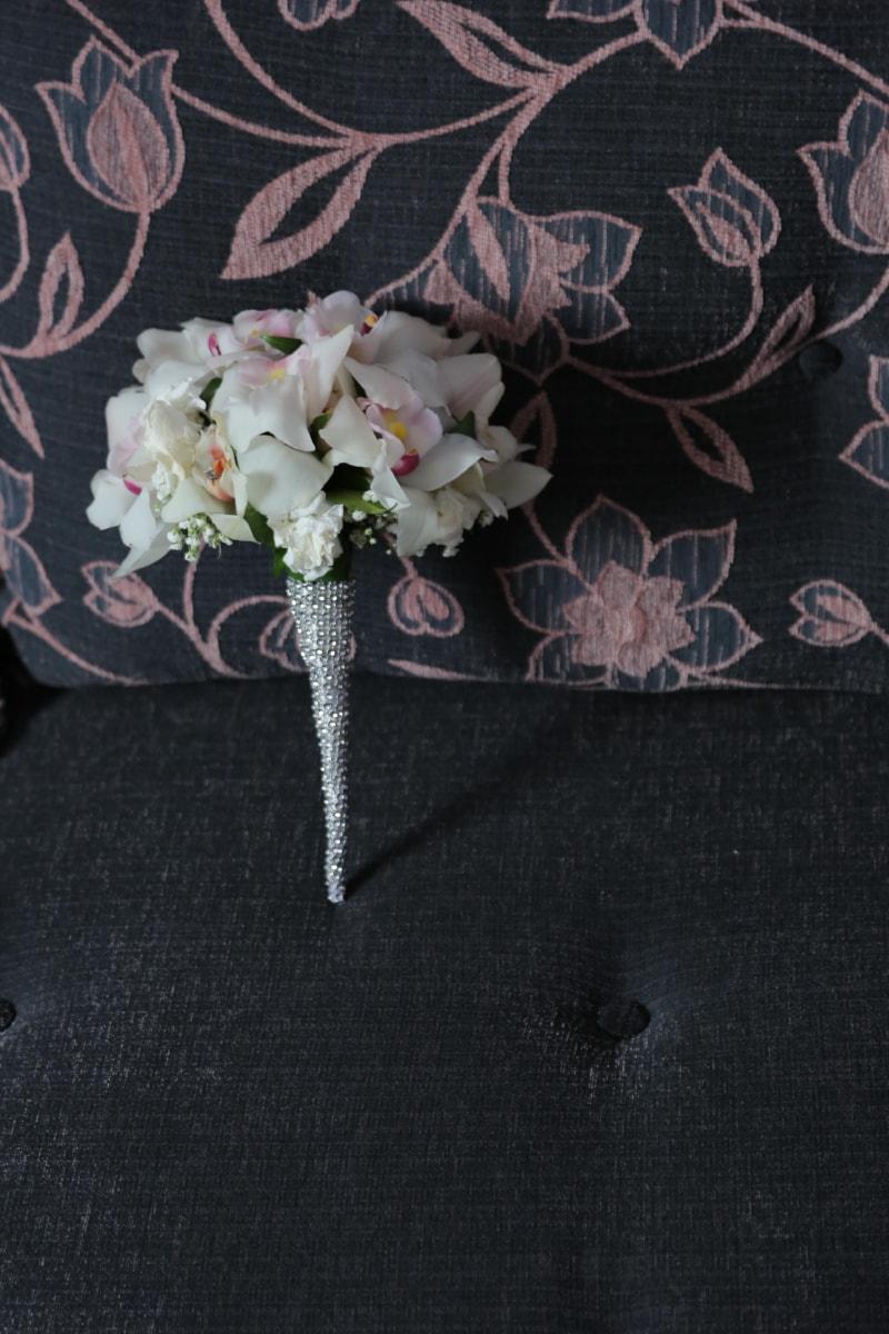 jewelry, jewel, wedding bouquet, orchid, flower, wedding, bouquet, flowers, celebration, love
