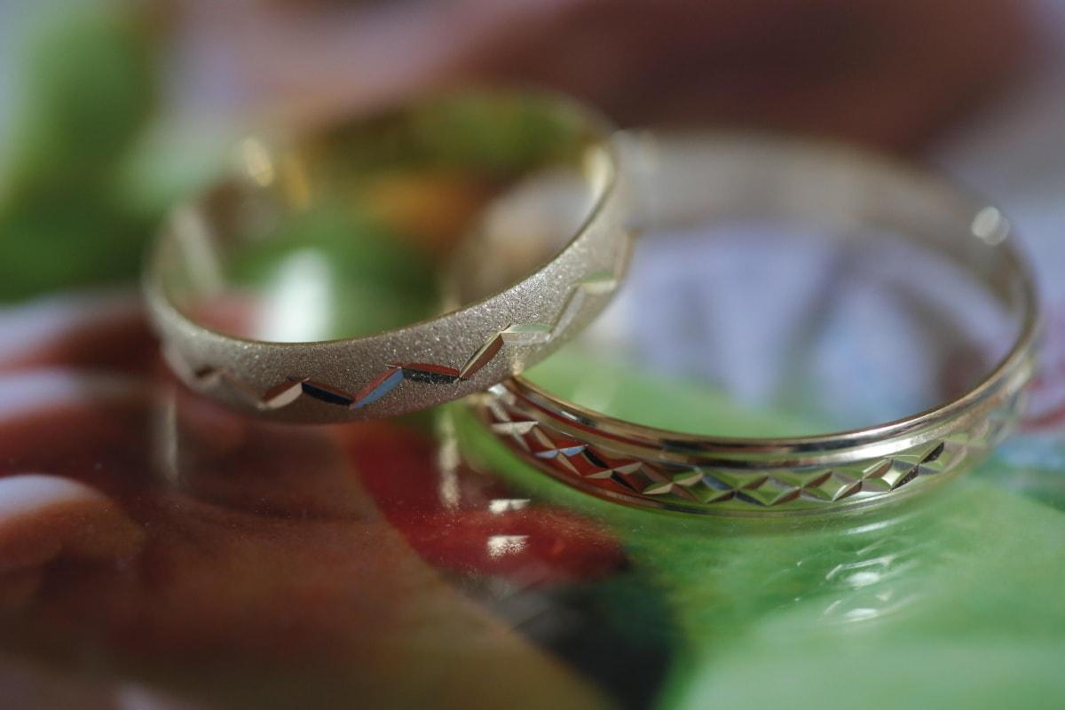 δαχτυλίδια, χειροποίητο, Χρυσό, Ξυλόγλυπτα, Χρυσή λάμψη, Ρομαντικό, Αγάπη, ζευγάρι, λεπτομέρειες, αντικείμενο