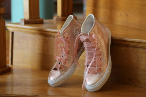 pink, sneakers, comfortable, design, style, shoelace, elegant, fashion, pair, wood