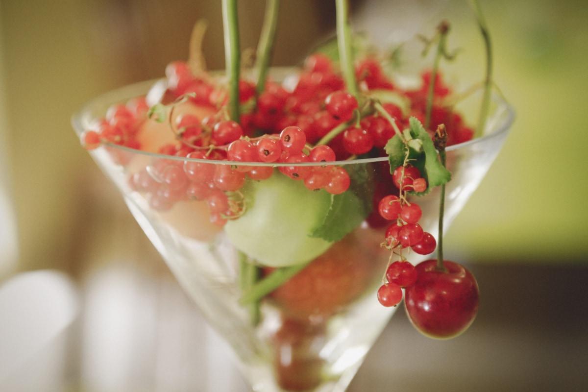 fruit cocktail, currant, cherries, cocktail, berry, fresh, dessert, diet, sweet, fruit