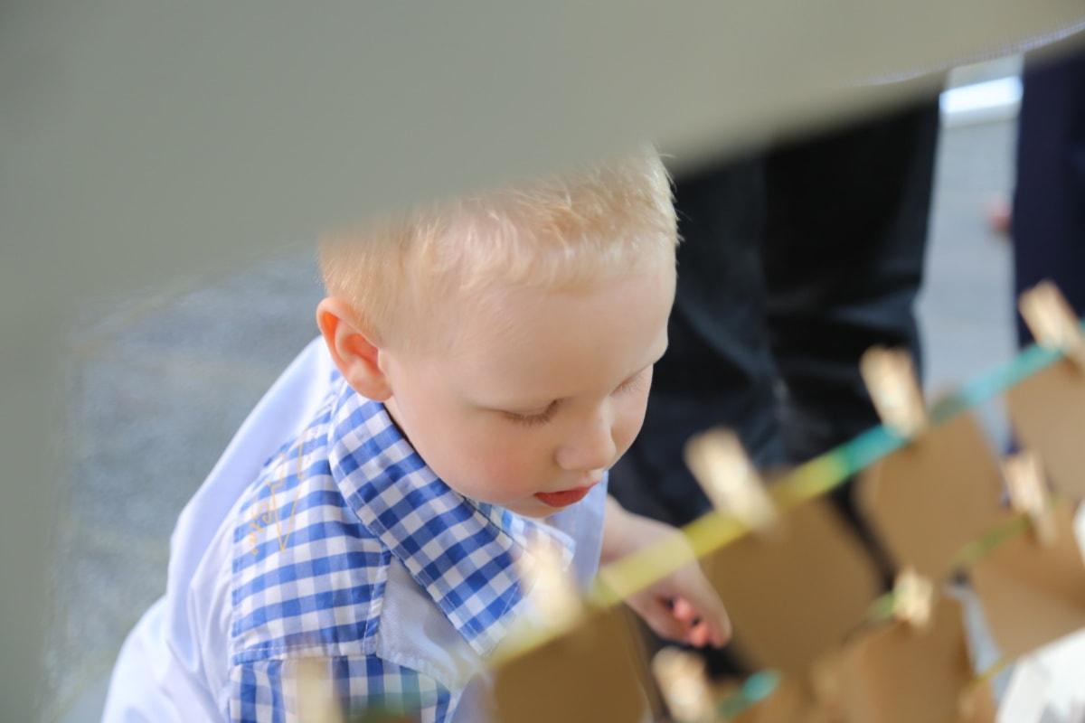 junge, Junge, Gesicht, blonde Haare, Kopf, Sohn, untergeordnete, Kindheit, bengel, niedlich