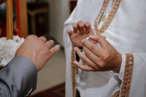 mariage, prêtre, bague de mariage, homme, mari, religion, jeune marié, cérémonie, gens, spiritualité