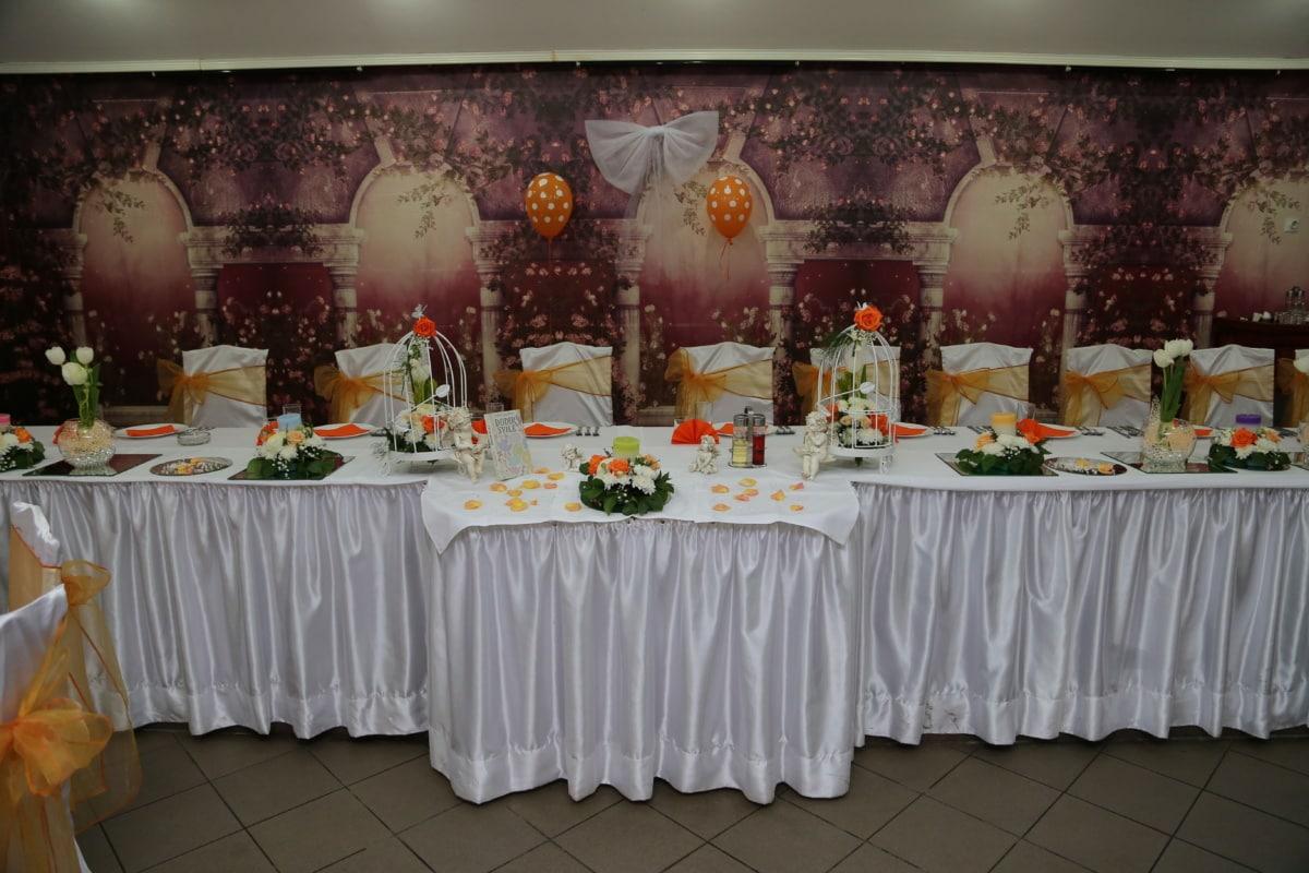hotel, dining area, restaurant, wedding, lunchroom, banquet, interior, room, furniture, table