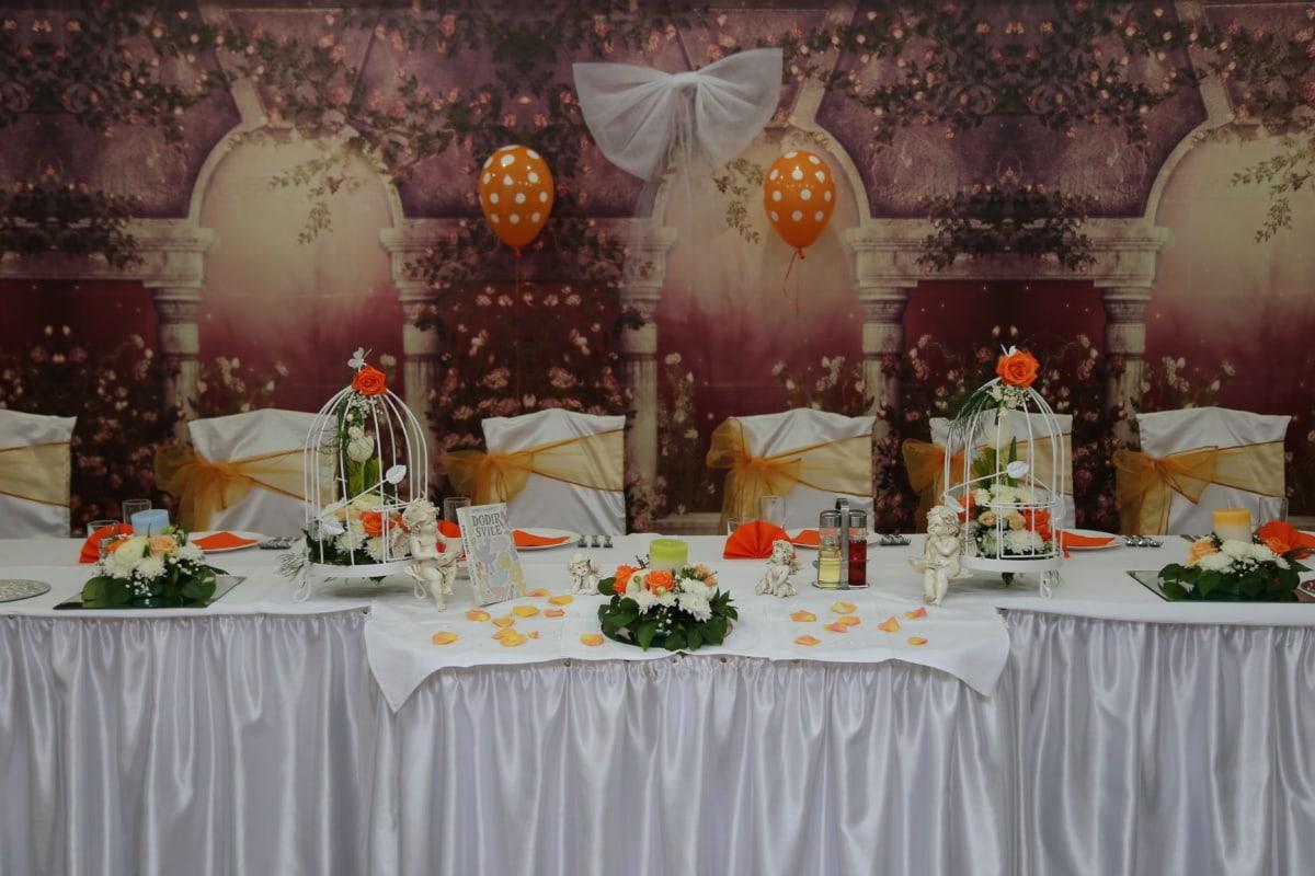 椅子, 室内装饰, 婚礼, 表, 庆祝, 优雅, 豪华, 优雅, 餐饮区, 餐厅