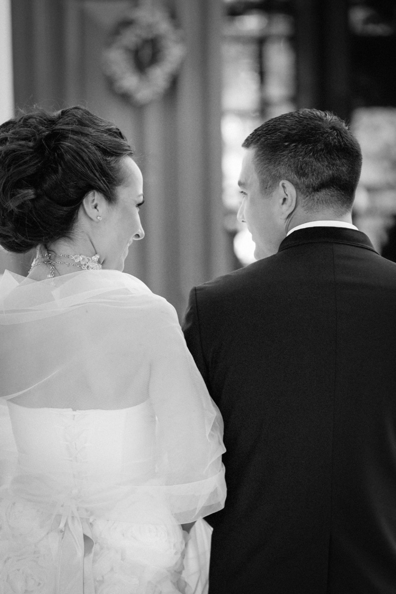 marriage, looking, smile, family, black and white, ceremony, groom, couple, love, man