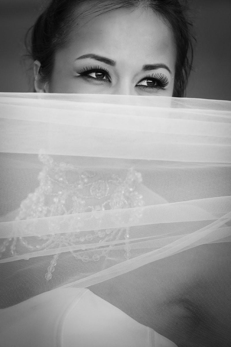 face, women, eyes, eyelashes, veil, makeup, cosmetics, wedding, bathroom, girl