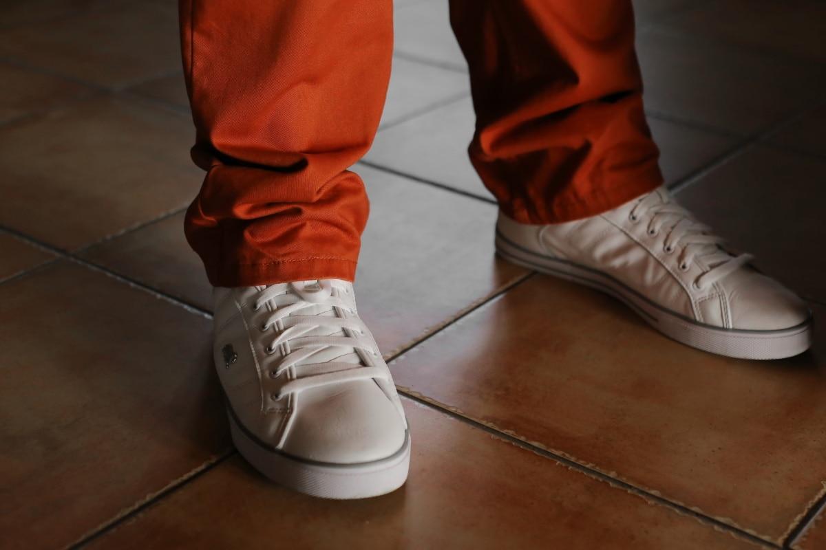 Turnschuhe, weiß, Eleganz, Hose, Mode, Schuh, Schuhe, Leder, Schuhe, Menschen