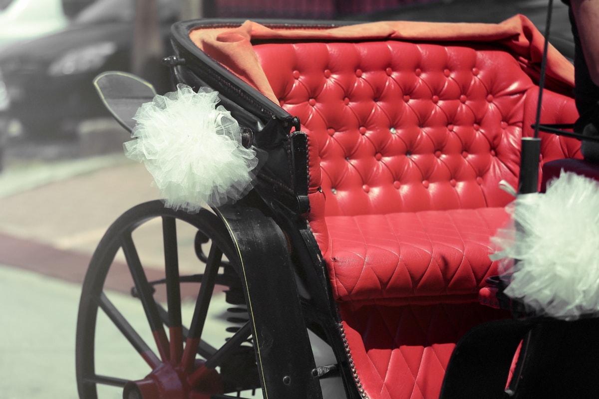 transport, élégance, Old-fashioned, Retro, à l'extérieur, classique, siège, été, véhicule, élégant