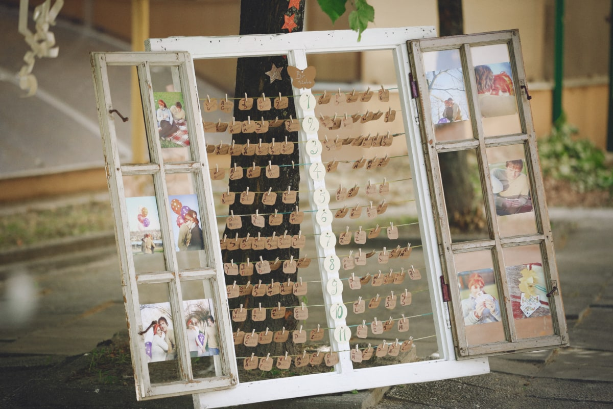 windows, memorabilia, decoration, memory, decorative, homemade, hanging, handmade, outdoors, exhibition