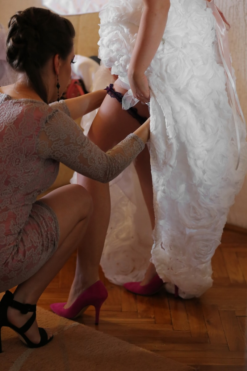 legs, gorgeous, wedding dress, wedding, model, fashion, attractive, bride, clothing, pretty