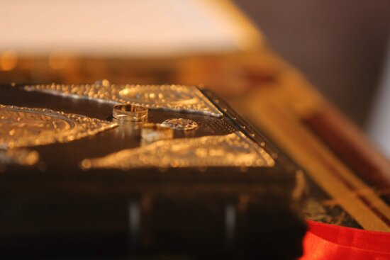 gold, ring, bible, hardcover, book, blur, indoors, still life, jewelry, light