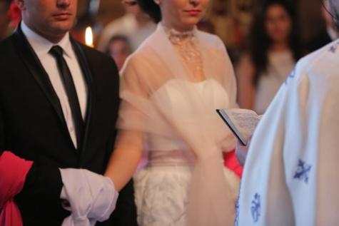 結婚式, 宗教的です, 聖書, 教会, 司祭, 夫, 結婚, キリスト教, キリスト教, 妻