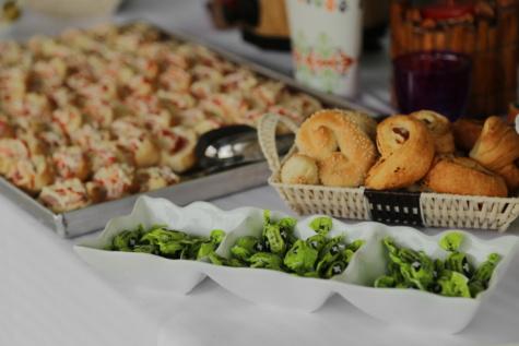 Backwaren, Bonbon, Kantine, Mittagessen, Snack, Essen, Brot, Platte, Mahlzeit, Frühstück