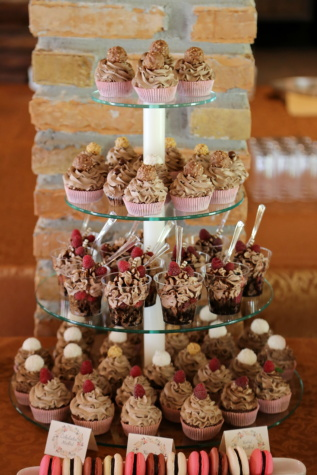 raspberry, cupcake, icecream, chocolate, candy, confectionery, decoration, celebration, gift, party