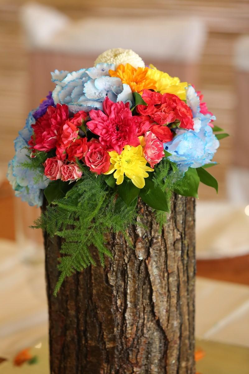 nature morte, bouquet, arbre, fleur, fleurs, arrangement, nature, décoration, feuille, brillant