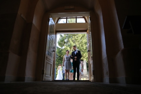 entrada, novia, puerta de entrada, sombra, novio, ventana, personas, arquitectura, adentro, vertical